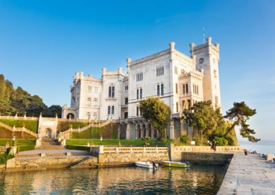 Castello di Miramare tour International Limousine Service