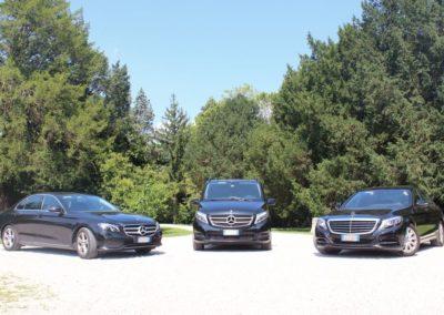 Mercedes fleet for luxury transport